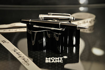 MONTBLANC Solitaire DOUE Stainless Steel 163 Rollerball - SUPERB. Retails@ $675.