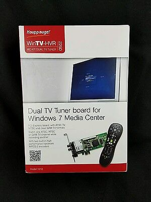 Hauppauge WinTV-HVR-2250 Dual Tuner Media Center kit with Remote Control