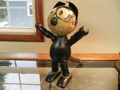 c1922 Felix the Cat Wooden Figure