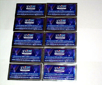 Crest 3D Whitestrips Luxe Professional Effects 20 Strips/10Pouches  *new*