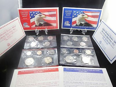 2003 United States P-D Mint Uncirculated Coin Set 20 Coins