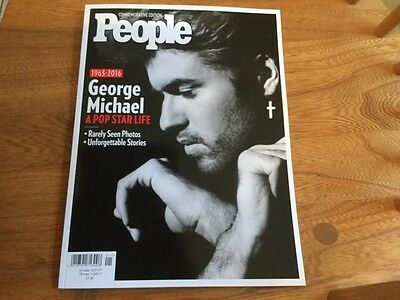 George Michael People Magazine Commemorative Edition 1963-2016  New Out