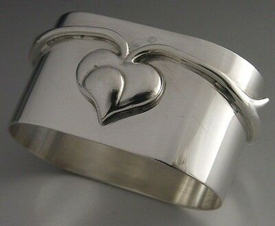 Stunning Solid Sterling Silver Napkin Ring 1997 Victoria And Albert Museum Knox