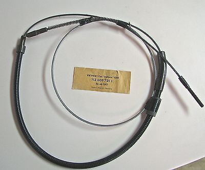 New Original VW Hand Brake Cable - Made in W. Germany - 113-609-721-L