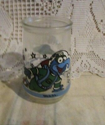 Vintage Welch's Jelly Glass Muppets In Space Henson Gonzo