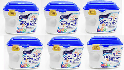 6 Pack 1.38 lbs Similac Go & Grow Toddler Formula 12-24 Mo sealed