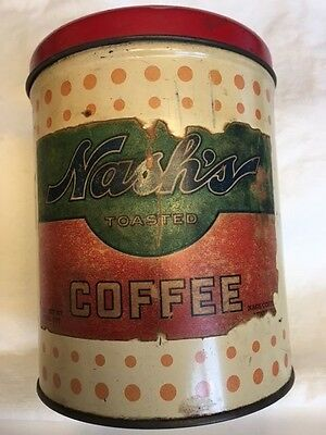 Antique coffee can advertising art