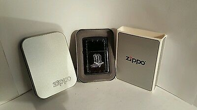 Zippo lighter with Silver cowboy boots