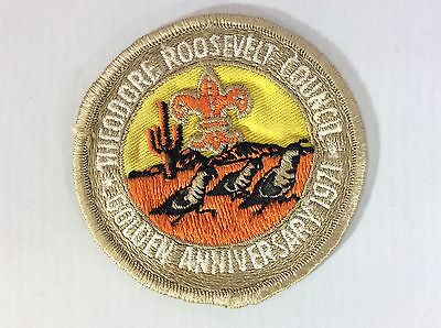 Theodore Roosevelt Council 1971 Golden Anniversary pocket patch