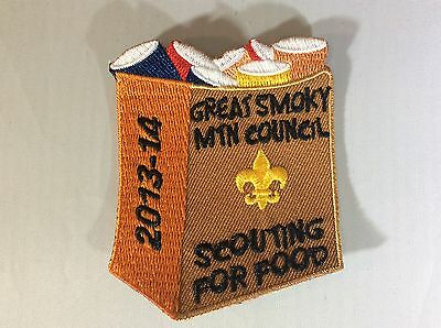2013 Great Smoky Mountain Council Scouting for Food patch