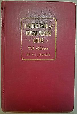 A Guide Book of United States Coins, 1953 7th edition