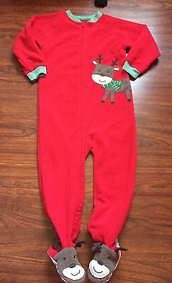 Carter's Toddler Girls Or Boys Footed Sleeper Pajamas Size 3T Unisex Clothes