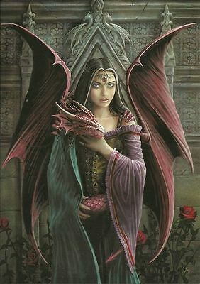 Soul Mates Greeting Card - Anne Stokes