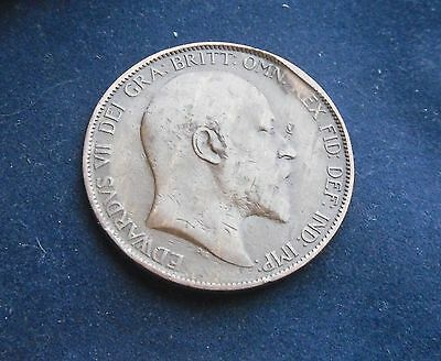 Edward VII 1903 Penny, Good Condition.