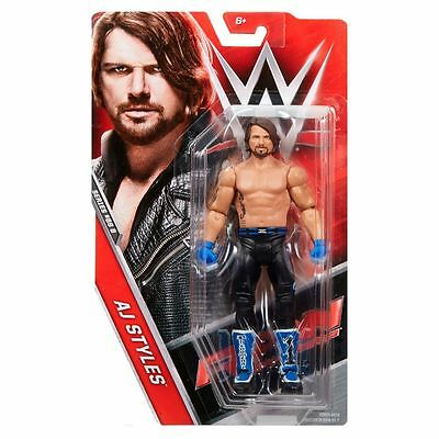WWE AJ STYLES BASIC SERIES 73 SMACKDOWN LIVE MATTEL WRESTLING ACTION FIGURE NEW