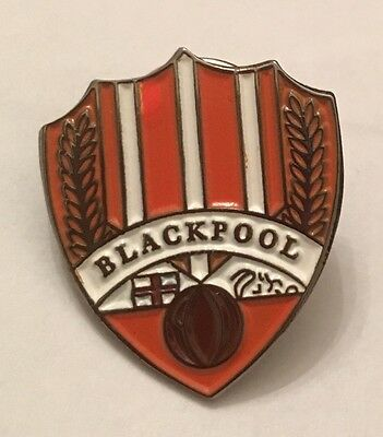 Blackpool Old Classic Pin badge