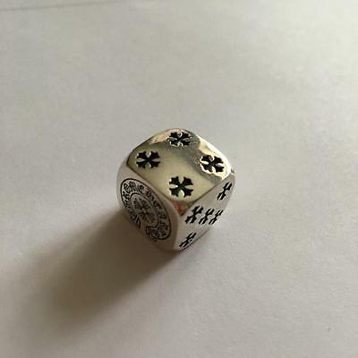 Chrome Hearts Sterling Silver 925 Dice