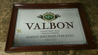Valbon BPF French Table Wine Beer Mirror Excellent Maison Bouchard Pere & Fils