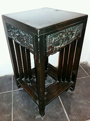 Nest Of Chinese Carved Tables