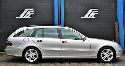 2004 Mercedes-Benz E-Class E500 4dr Wagon 5.0L 4MATIC 2004 Mercedes Benz E500 Wagon 4Matic One Owner New Tires Leather Just Serviced