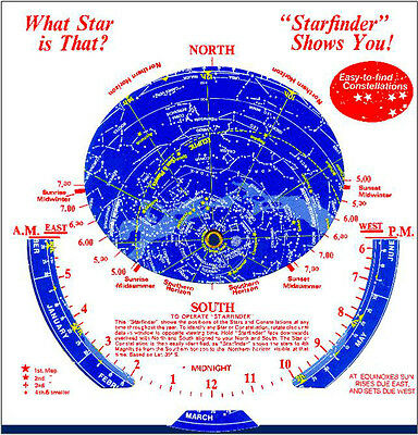 Astronomy Star Map PLUS Bonus Solar Glasses