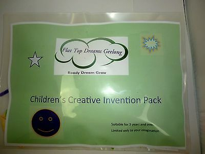 Children's 70+ Piece Arts and Craft Activity Kit Creative Learning Quiet Play