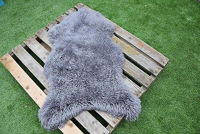 Genuine Natural Sheepskin Rug - Soft Real Wool - Rare Breed    Luxury !!!