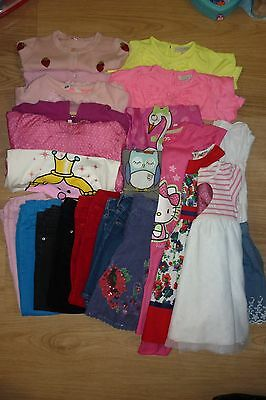 Large bundle of girls mixed clothing items - 4 - 5 years old