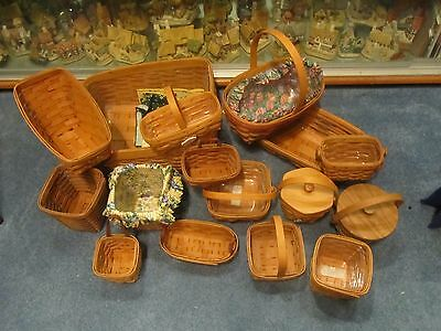 Longaberger Baskets In Really Great Conidtion