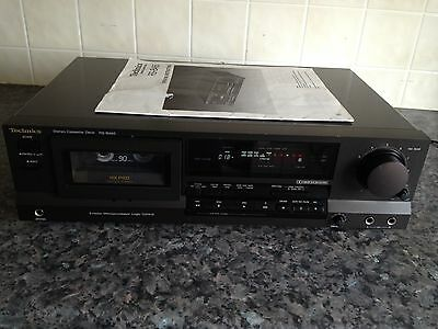 technics cassette player rs-b465 excellent working order