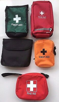 Travel First Aid Kit - 42 Items - 5 Different Bags, Sun Cream, Insect Wipes