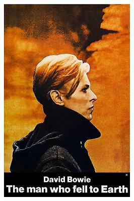 The Man Who Fell To Earth - POSTER David Bowie LOW album Nicolas Roeg AMAZING