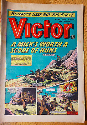 The Victor (UK Comic) - Issue #693 (1st June 1974)