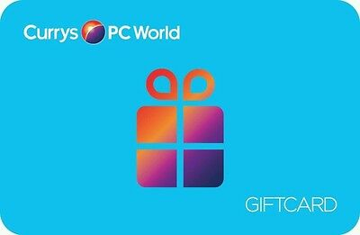 Currys / PC World gift card £229.01