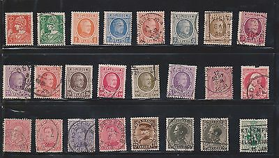 (U5-19) 1900-60 Belgium mix of 48 stamps 5c to 1.35F