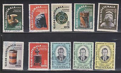 (U10-14) 1960-70s Guatemala mix of 50 stamps values to 35c (D)