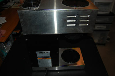 BUNN 33200.0001 Commercial VPR Stainless Steel Coffee Maker Brewer w/ 2 Warmers