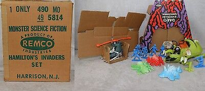 Hamilton HAMILTON'S INVADERS Remco Copter Horrible #5814 Sears Only Boxed