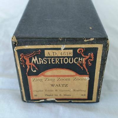 Pianola Piano Roll Zing Zing Zoom Zoom Waltz Mastertouch AD 4618 - 019