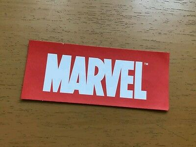 Marvel Comics Logo Vinyl Decal Sticker - NEW