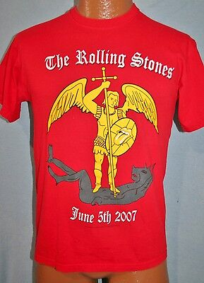 THE ROLLING STONES 2007 Bigger Bang Concert Tour OPENING NIGHT Werchter T-SHIRT