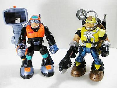 Rescue Heroes - Mission Select Jack Hammer & Optic Force Rock Miner Discontinued
