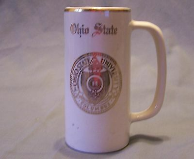 Ohio State University Small Mug - W. C. Bunting Co.  East Liverpool, Ohio