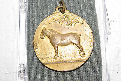 Vintage Horse Medal Medallion From A Contest In Belgium 1932