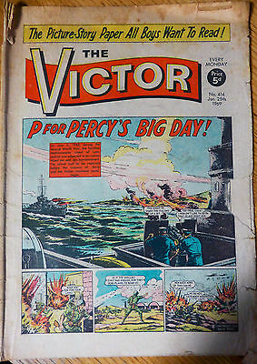 The Victor (UK Comic) - Issue #414 (25th January 1969)