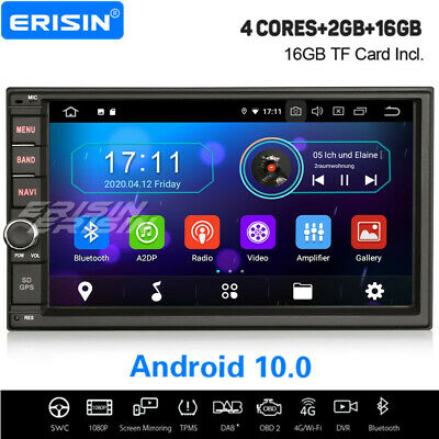 "7"" Android 6.0 Car Stereo GPS Radio double 2DIN NAVI DAB+ DVR WiFi 3G DTV-IN USB"