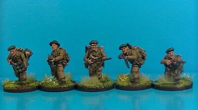 28mm WWII British Commandos Warlord Games Pro Painted