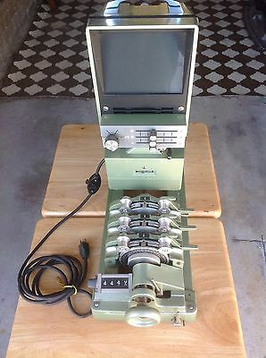 16 mm. 4 Bank Syncroniser with 3 Sound Heads 1 Picture.