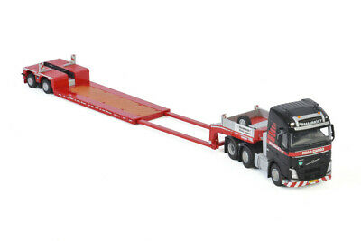 Drake Heavy Haulage Kenworth K200 Prime Mover 3x8 Trailer Link Low Loaders  1:50
