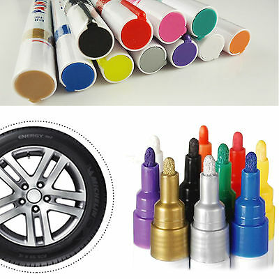 Colorful Tyre Permanent Paint Pen Tire Metal Glass Lettering Marking Ink Marker